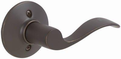 Schlage F170VACC716RH Aged Bronze Accent Right Hand Decorative Trim Door Lever