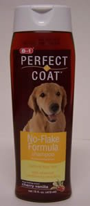 8 in 1 Perfect Coat No-Flake Formula Shampoo for Dogs, My Pet Supplies
