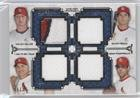 Shelby Miller; David Freese; Carlos Beltran; Adam Wainwright #96/99 (Baseball Card) 2014 Topps Museum Collection - Four-Player Primary Pieces Quad Relics #PPFQR-24 (Miller Primary Collection)