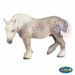 (Percheron Horse)