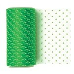 Apple Green Dotted Tulle Ribbon - 6