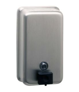 BOBRICK WASHROOM EQUIPMENT BO.B-2111 Soap Dispenser Vertical Tank Bobrick by Bobrick