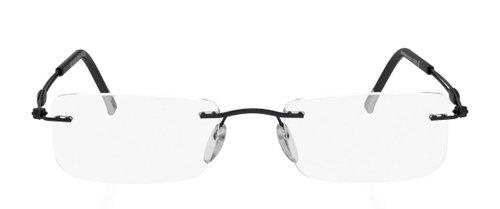 Silhouette Eyeglasses Titan TNG 5221 6060 Black Optical F...