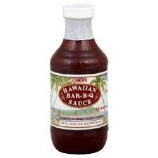 Noh Foods Hawaiian Barbecue Sauce 20 Oz