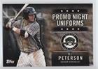 Peterson Pc - D.J. Peterson (Baseball Card) 2015 Topps Pro Debut - Promo Night Uniforms #PN-PC