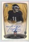 Tommy Rees (Football Card) 2014 Bowman - Rookie Chrome Refractor Autograph #87