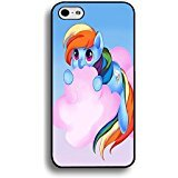 Iphone 6 / 6s ( 4.7 Inch ) TV Cartoon Cell Cover Lovely Rainbow Dash My Little Pony Phone Case Cover for Iphone 6 / 6s ( 4.7 Inch )