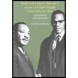 Martin Luther King Jr, Malcom X, & the Civil Rights Struggle of the 1950s & '60s - A Brief History with Documents (04) by Howard-Pitney, David [Paperback (2004)]