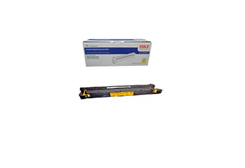 (Okidata ColorLaser C9600 Drum Imaging - OEM - OEM# 42918101 - 42K - YELLOW - Also for C9800 and othe)