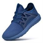 Feetmat Boys Sneakers Lightweight Breathable Kids Tennis Shoes for School Blue 5.5
