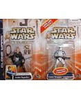 Anakin Skywalker and Clone Trooper Lieutenant (blue) -