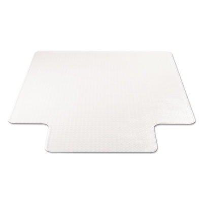 Supermat Studded Beveled Mat (deflecto CM14233 Beveled Clear 45x53 w/Lip Medium Pile Carpet SuperMat Frequent Use Chair Mat)