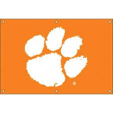 NCAA Clemson Tigers Fan Banner (Clemson University Basketball)
