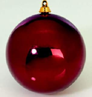 Christbaumkugeln 25 Cm.8 Große Weihnachtskugeln Christbaumkugeln Rot Glänzend 25 Cm