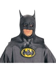 Price comparison product image Batman Mask with Cowl Costume Accessory