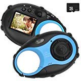Kids Digital Camera, Mini Electronic Camera for Children, 12MP HD Kids Video Camcorder with 1.5 Inch...