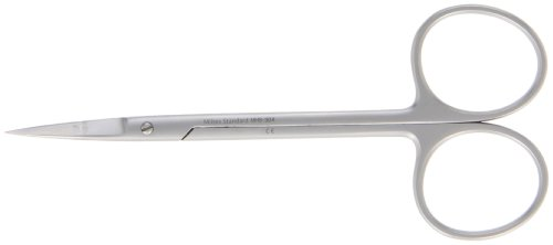 Integra Miltex MH5-304 Iris Scissors, Straight, 11.4cm - Scissors Iris Miltex