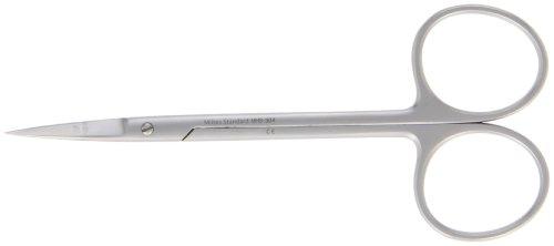Integra Miltex MH5-304 Iris Scissors, Straight, 11.4cm Length