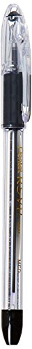 Pentel Ballpoint Pen, Medium Point, 24/PK, Black Ink/Clear Barrel (PENBK91ASWUS)