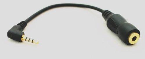 Yantos Sound Kabel v 2,5 auf 3,5 Klinke f/ür Audiovox PPC-6600 6601KIT Tata Indicom Konquer