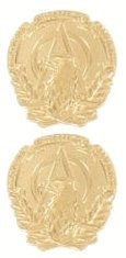 US Army Enlisted Acquisition Gold Collar Rank Insignia