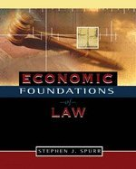 Download Economic Foundations of Law PDF