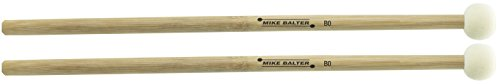 Mike Balter B0 Hard Solid Felt Bamboo Timpani Mallets