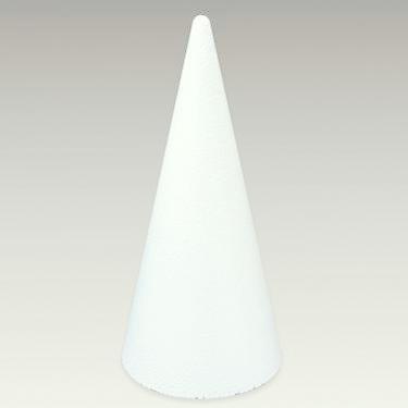 Craftmill Polystyrene Cone 60cm   600mm - Box of (2)