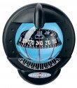 NAUTOS 64422 - CONTEST 101 COMPASS - MOUNT INCLINED 10 TO 25 DEGREES - BLACK BEZEL BLACK CARD