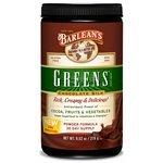 Barlean's Organic Oils --- New Formula --- Chocolate Silk Greens - Powder - 9.52 oz. (Pack of 3)