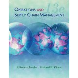 Operations and Supply Chain Mangement (Selected Materials for MG 375 Park University- 13th Edition), Robert Jacobs and Richard B Chase, 0077522303
