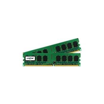 NON-ECC, 2GB kit 1GBx2 Upgrade for a Dell Inspiron 530s System DDR2 PC2-5300