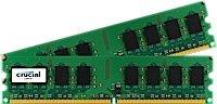 Memoria RAM 4GB Crucial Kit (2GBx2) DDR2 800MHz (PC2-6400) CL6 Unbuffered UDIMM 240-Pin CT2KIT25664AA800 / CT2CP25664AA8
