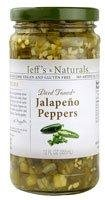 Jeff's Naturals Diced Tamed Jalapeno Peppers -- 12 fl oz