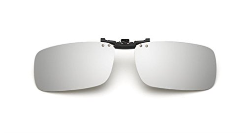 Mujer Blanco Unisex Mercurio Sol UK1stChoice Las CLIPON1302 Gafas Polarizado en de Clip Hombre Zone wttOq7E