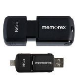 Memorex Dual Micro TravelDrive 16 (Memorex Usb Connector)