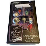 (The Nightmare Before Christmas Lock, Shock & Barrel Action Figures from Disney's)