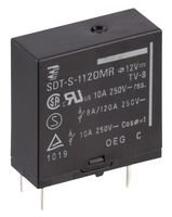 SPST-NO RELAY 250VAC 10A SDT-S-112DMR,601 By TE CONNECTIVITY // OEG 30VDC