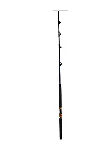 Saltwater Fishing Rod All Roller Guides 30 - 50 lb. Fishing Pole! (50 Lb Rod)