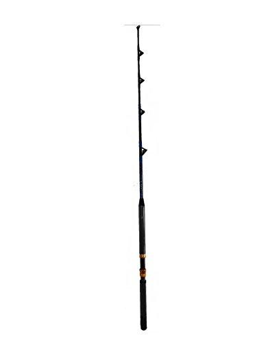 Tuna Rod And Reel (EAT MY TACKLE Fishing Pole, 50-80 Lb, 5-Feet 6-Inches)