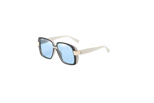 Ojos Gafas C de E Gafas Retro de Hombre Personalidad Intellectuality Sol de Mujer polarizadas Sol vxwnfdqZ
