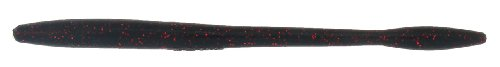 Bass Assassin TO64419 Tapout (12 Count), Black/Red Glitter, - Black Red Craw Glitter