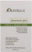 Olivella - Virgin Olive Oil Fragrance Free Bar Soap - 3.52 oz. (Virgin Olive Oil Face)