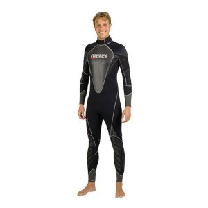 22d46a9666 Mares Mens 1 mm Coral Full Wetsuit (Black