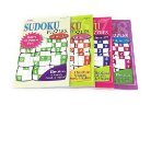 Sudoku Puzzles (Volumes 375, 376, 377, and 378) 4 Pack Bundle Directions In English, Spanish And French With 304 Sudoku Puzzles Included