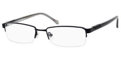 Eyeglasses 0rx1 Satin - Fossil MARCO Eyeglasses (0RX1) Black Satin, 50 mm