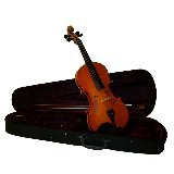 GRACE 13 inch Natural Viola with Case and Bow + Free Rosin