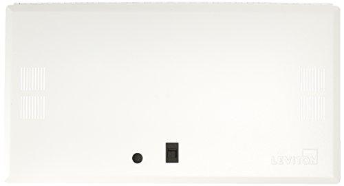 Leviton 47605-28S 28-Inch Vented Premium Hinged Structured Media Door,  White ()