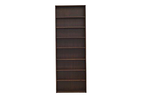 - Urbangreen UB7MUnf Urban Basics Bookcase in Maple, 30