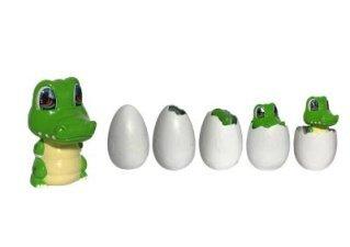 Amazon Com Incubabies Baby Gator Cute Alligator Egg Hatch Toy Pet